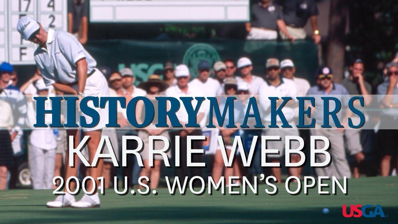 History Makers: Karrie Webb Wins Second Straight Women's Open Title