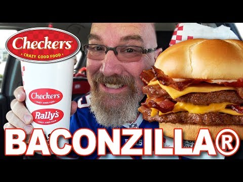 🍔🍟🥤 BACONZILLA!® Combo Meal From Checkers