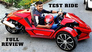UNITED AUTOS LAUNCH 350cc SPIDER FULL REVIEW & TEST RIDE ON PK BIKES