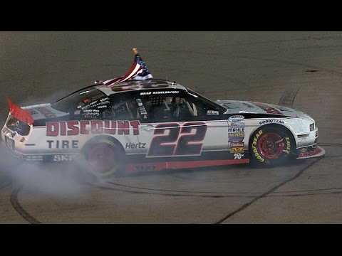 Keselowski holds on for third NNS win of 2014