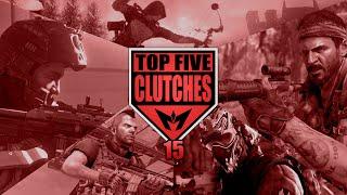BO3 Top 5 SnD Clutches ep15 - INSANE KNIFE CLUTCH