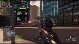 [BF4/SPRX] NEW BEST FREE MOD MENU THE OUTCAST RELEASE + DOWNLOAD!