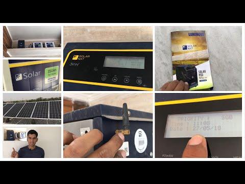 Luminous solar pcu 3 kilo watt | price review specifications