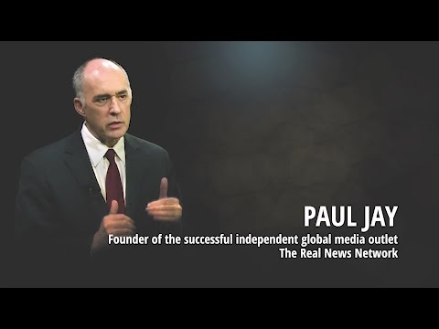 Paul Jay über Medienkonzerne, Donald Trump, 9/11, Klimawandel & The Real News Network