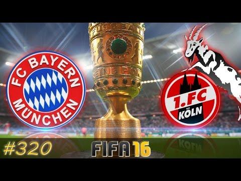 DFB POKAL FINALE FC Bayern München vs 1. FC Köln (Fifa 16 Trainerkarriere #320)