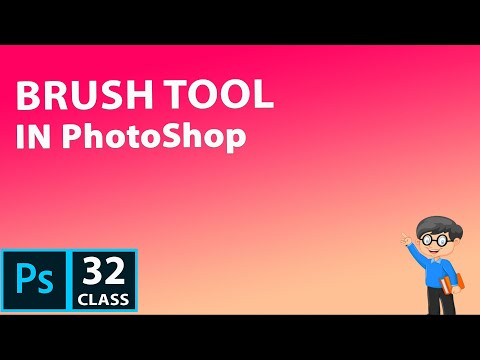 How to Use Brush Tool in PhotoShop CC 2019 | PhotoShop Tutorial for beginner thumbnail