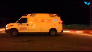 Video phootage from the scene of the terror attack in samaria