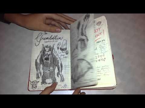 Cмотреть видео онлайн Дневник Диппера своими руками (Гравити Фолз)