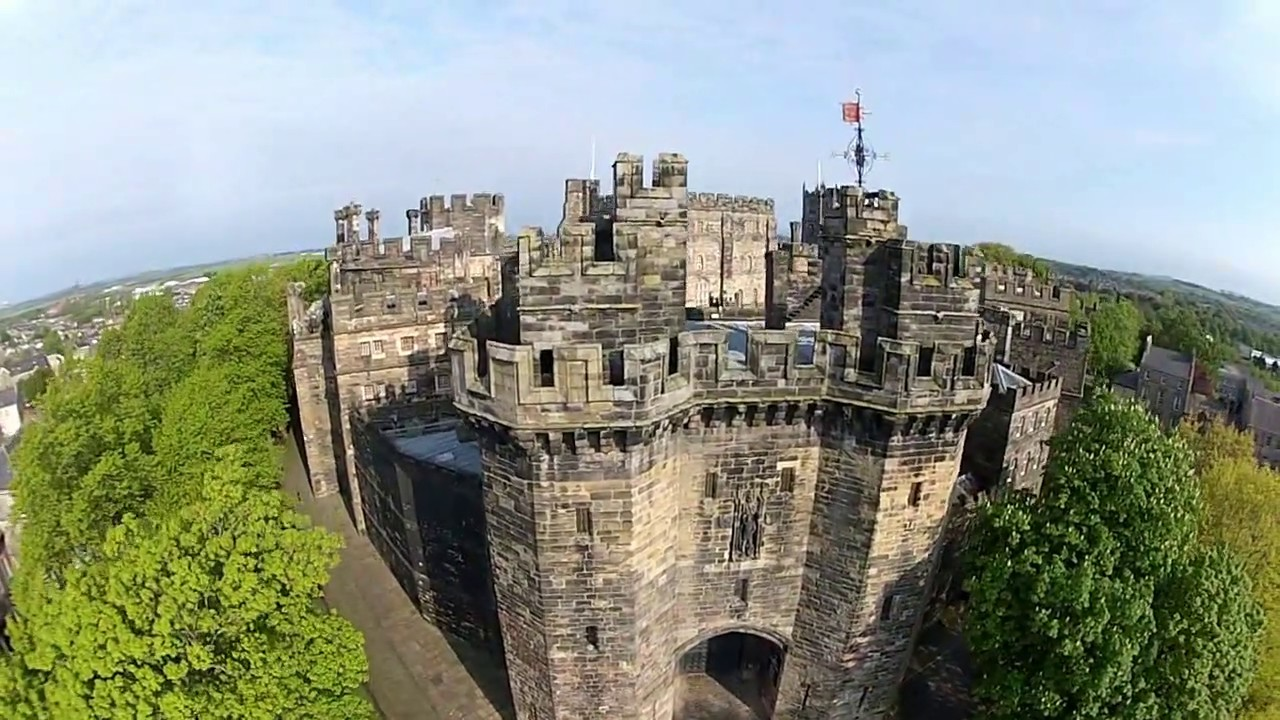 LANCASTER CASTLE as you have never seen it before Birds
