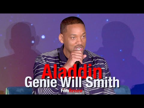 Aladdin - What convinced Will Smith he could play Genie?