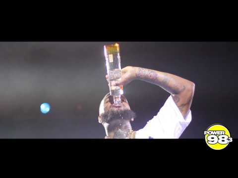 THE GAME - DOWNS A BOTTLE OF CIROC IN 48 SECONDS !!!!
