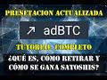ADBTC.TOP / ¿Qué Es, Cómo Retirar y Cómo se Gana Satoshis? / Presentación Actualizada 2021