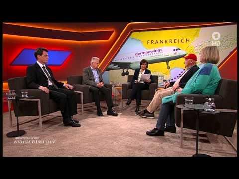 Maischberger | 24.03.2015 | Germanwings 4U-9525 Airbus-Absturz in Frankreich [HD]