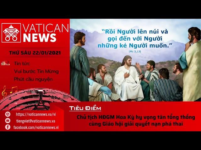 Radio: Vatican News Tiếng Việt thứ Sáu 22.01.2021