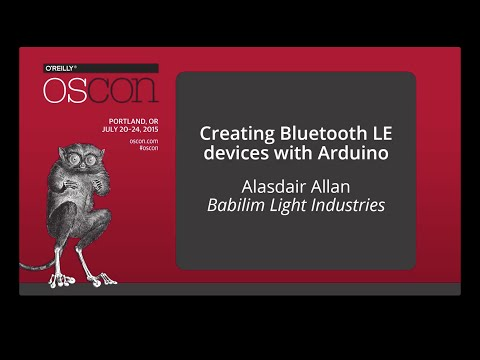 Creating Bluetooth LE Devices with Arduino