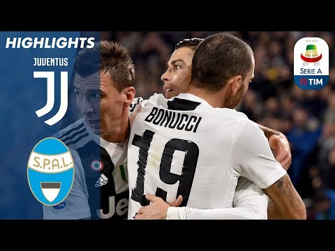Juventus 2-0 Spal | Ronaldo And Mandžukić Lead Bianconeri To Win Once Again! | Serie A