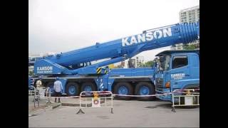 Kanson LTM1300-6.2 lifting footbridge
