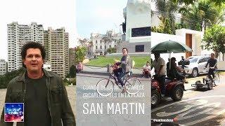 Carlos Vives Pasea En Bicicleta Por Lima Grabando Nuevo