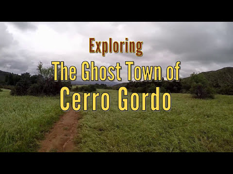 Exploring the Ghost Town of Cerro Gordo