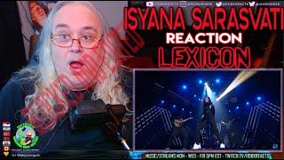 ISYANA SARASVATI Reaction - LEXICON Indonesian Idol 2020 - First Time Hearing - KONSER KEMENANGAN