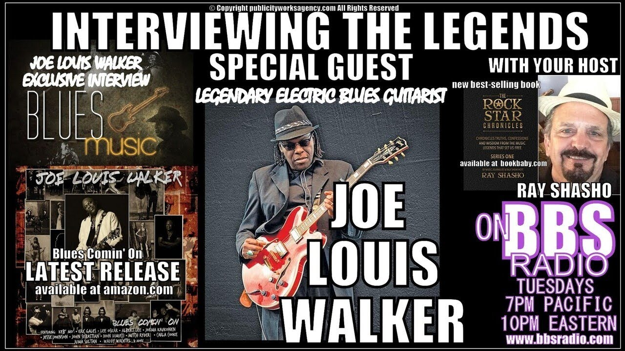 Joe Louis Walker/Mike Bloomfield Friendship and the Blues