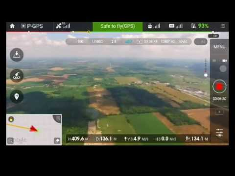 How to bypass max height Phantom 3, go over 500 meters