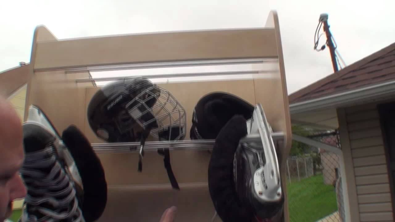 Pro Locker Review: Hockey Equipment Storage and Drying - YouTube