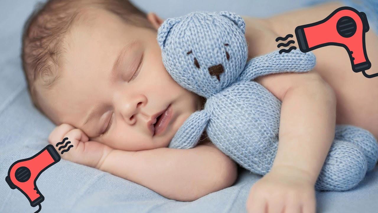 Белый шум/Звук фена для новорожденных/Малыш засыпает за 2 минуты!