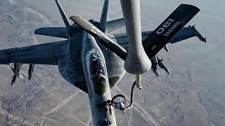Operational Footage Of Airstrikes On ISIS • Bomb Cam