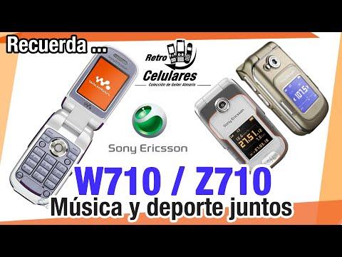 SONY ERICSSON W710 & Z710 Colección Celulares Clásicos o antiguos