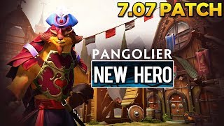Dota 2 - 7.07 Dueling Fates Patch - Pangolier (New Hero) Showcase