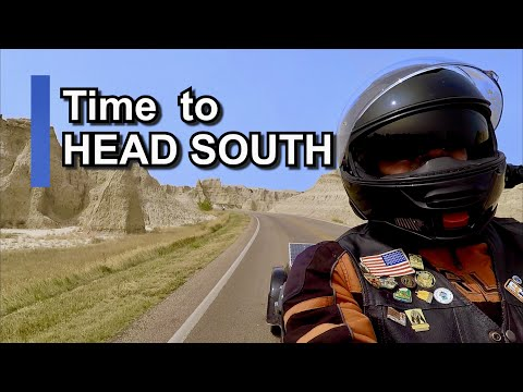 TIME TO HEAD SOUTH!! - Motorcycle Road Trip (S2 EP32)