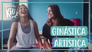 Thaynara OG e Bruna Louise fingem costume na ginástica artística | #54 | Minha Vida é Kiu