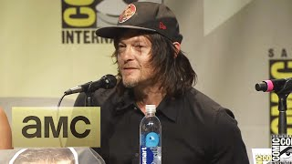 Norman Reedus on Becoming Daryl: Comic-Con Panel Highlights: The Walking Dead: Season 6