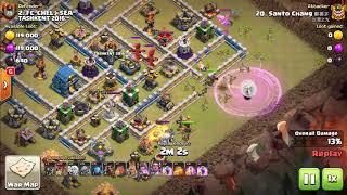 TH12 War Queen Walk Lavaloon - Clash Of Clans