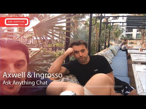 Axwell & Ingrosso Talk About Alesso, Their Private Jet & Pharrell Williams.  Full Chat Here
