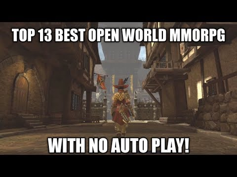 TOP 13 BEST OPEN WORLD MMORPG WITH NO AUTO PLAY (ANDROID/IOS)
