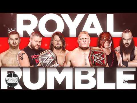 2018: WWE Royal Rumble 1st Official Theme Song - King Is Born