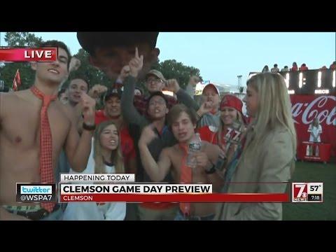 Gameday at Clemson