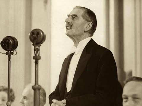 Neville Chamberlain - Speech at the Lord Mayor's Banquet in Guildhall, London  -  9 November 1938