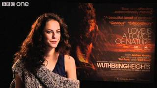 Actress Kaya Scodelario on Wuthering Heights - Film 2011 With Claudia Winkleman - BBC One