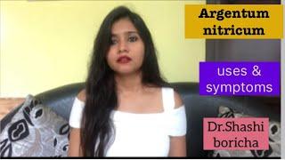 Argentum nitricum homeopathic medicine uses and symptoms