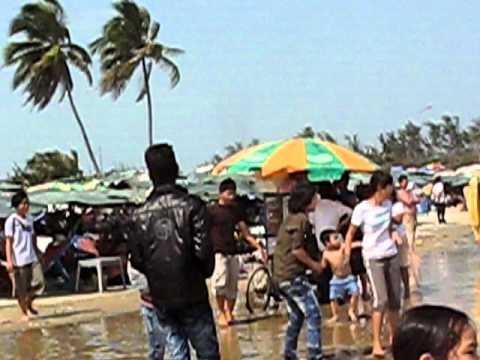 Vung Tau Beach in Vietnam on 2011 Vietnamese New Year!