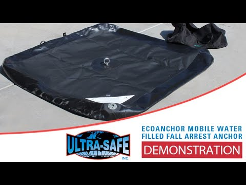 Ultra Safe Fall Protection - ecoAnchor - Mobile Water Filled Fall Arrest Anchor