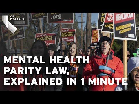 La nouvelle loi californienne étend la parité en santé mentale