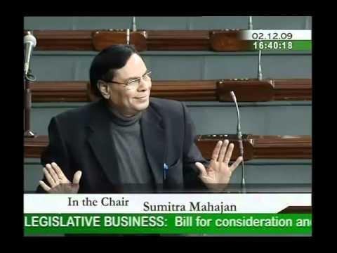 Representation of the people (Amendment) Bill, 2009: Sh. Harin Pathak: 02.12.2009