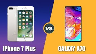 Speedtest iPhone 7 Plus vs Samsung Galaxy A70: Quá bất ngờ!!!