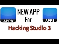 New Hacking Studio 3 App