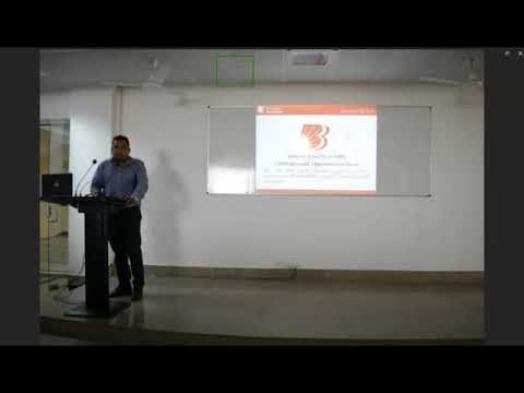 Seminar on Banking and Insurance sector of India by Mr Mohit Pareek