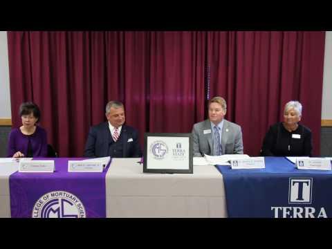 Cincinnati College of Mortuary Science & Terra State Community College Signing